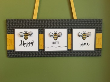 Maui Stamper Bee Happy Bee Grateful Bee You