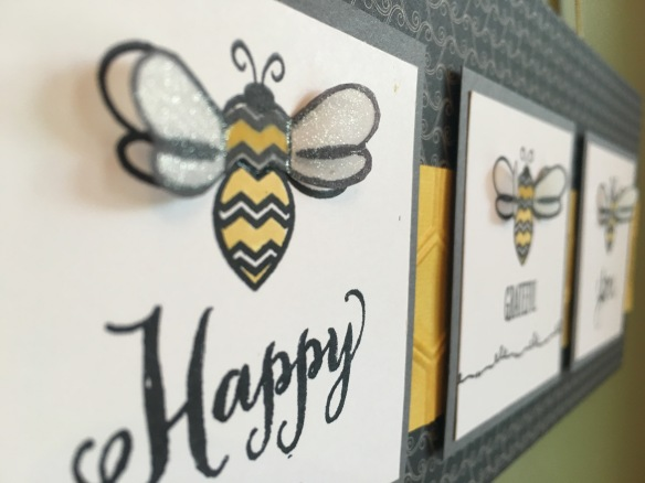 Maui Stamper Bee Happy Bee Grateful Bee You