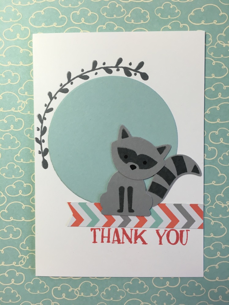 Maui Stamper Foxy Friends Thank You