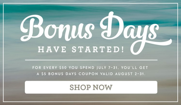 Maui Stamper Bonus Days Unlimited $5 Coupon