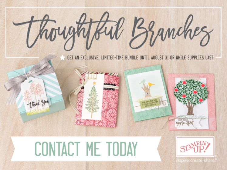Maui Stamper Thoughtful Branches Stampin' Up! Available 8/1/16