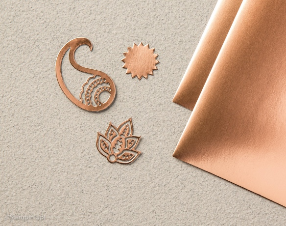 Maui Stamper Holiday 2016 Copper Foil Paper