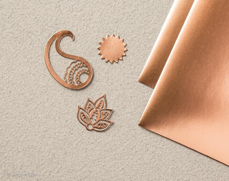 Maui Stamper Holiday 2016 Copper Foil Paper