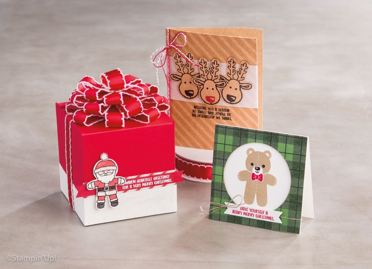 Maui Stamper Holiday 2016 Cookie Cutter Christmas stamp and punch bundle