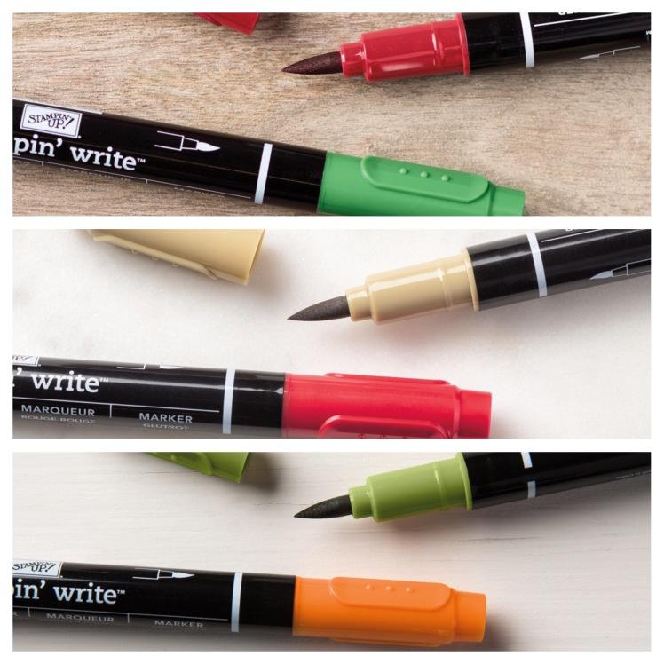 Maui Stamper Holiday 2016 Stampin' Write Marker sets