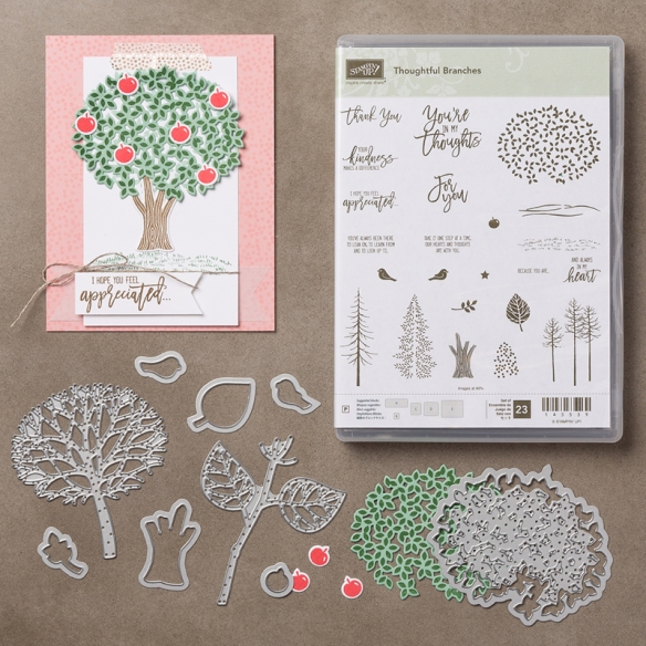 Maui Stamper Thoughtful Branches-Beautiful Branches Bundle from Stampin' Up!