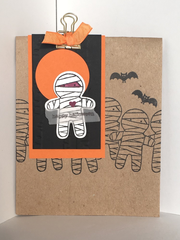 Maui Stamper RemARKable Blog Tour Stampin Up Cookie Cutter Halloween