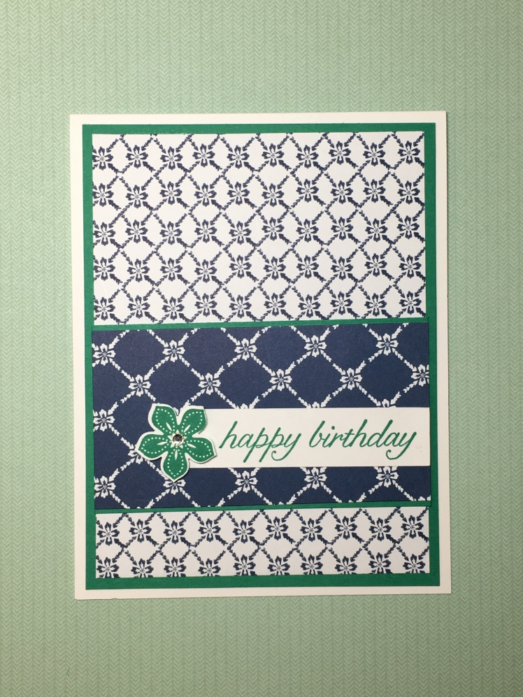 Maui Stamper Floral Boutique Stampin' Up! Happy Birthday