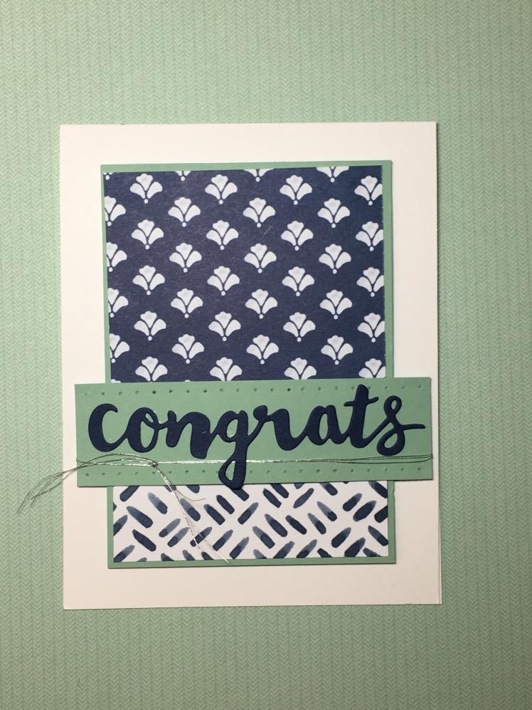 Maui Stamper Floral Boutique Stampin' Up! Congrats