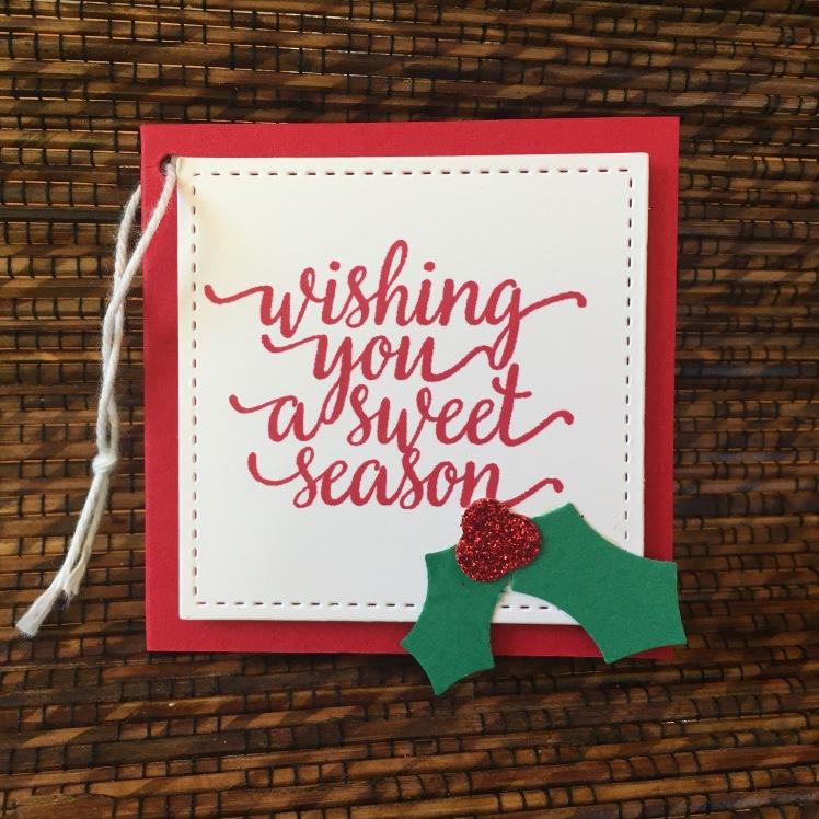 Maui Stamper Stitched Shape Sweet Season