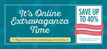 2016 Online Extravaganza November 21