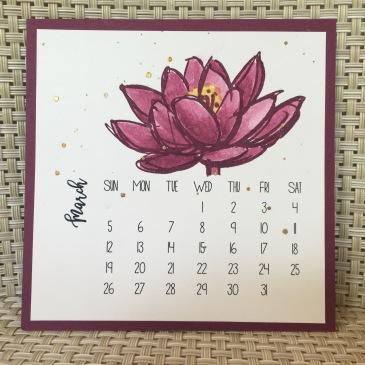 Maui Stamper DIY Easel Calendar Remarkable You