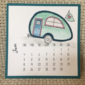 Maui Stamper DIY Easel Calendar You're Sublime