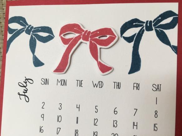 Maui Stamper DIY Easel Calendar Circle of Spring