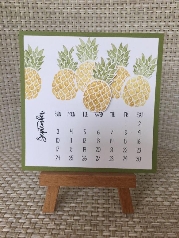 Diy Easel Calendar : Sweet maui pines the stamper