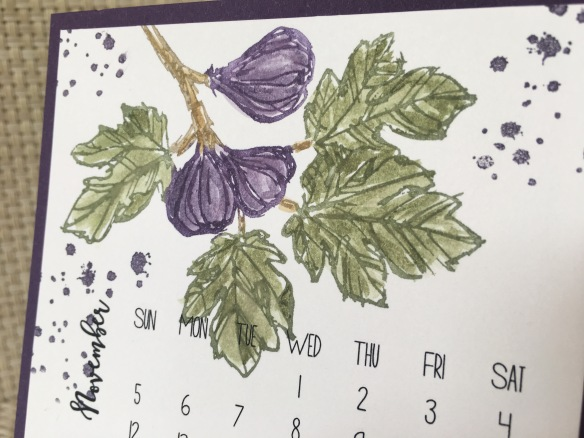 Maui Stamper DIY Easel Calendar Fabulous Flora