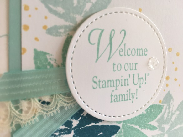 Maui Stamper Avant Garden Stampin' Up! Sale-a-bration 2017