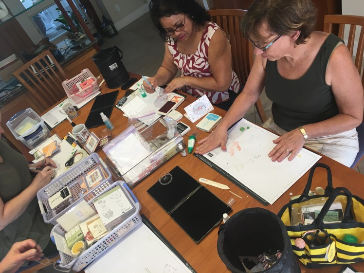 Maui Stampers ShoeBox Swap