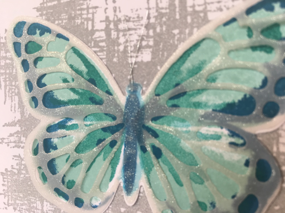 Maui Stamper Beautiful Butterfly Just for You