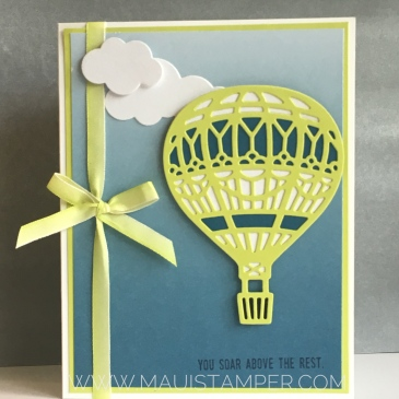 Maui Stamper Lift Me Up Stampin' Up!