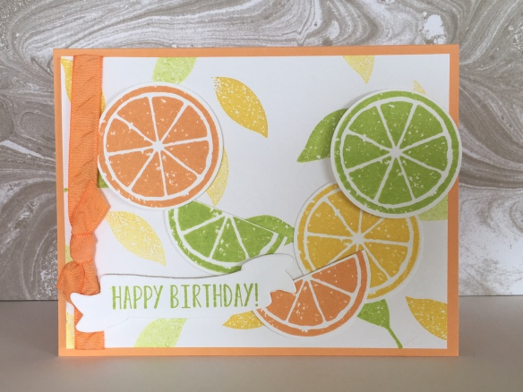 Maui Stamper Lemon Zest Stampin' Up!