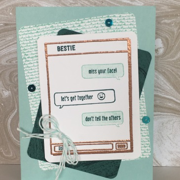 Maui Stamper Text Ya Later Stampin' Up!