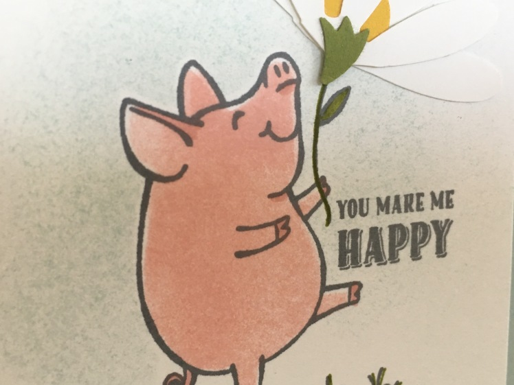Maui Stamper This Little Piggy Stampin' Up!
