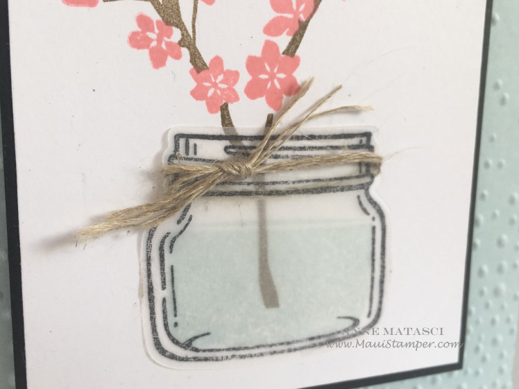 Maui Stamper Stampin' Up! Jars meet Colorful Season
