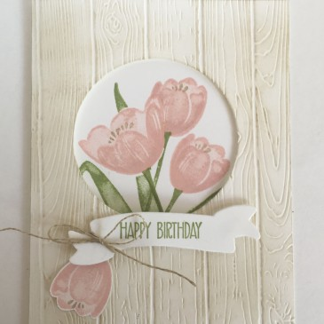 Maui Stamper Stampin' Up! Tranquil Tulips Host stamps