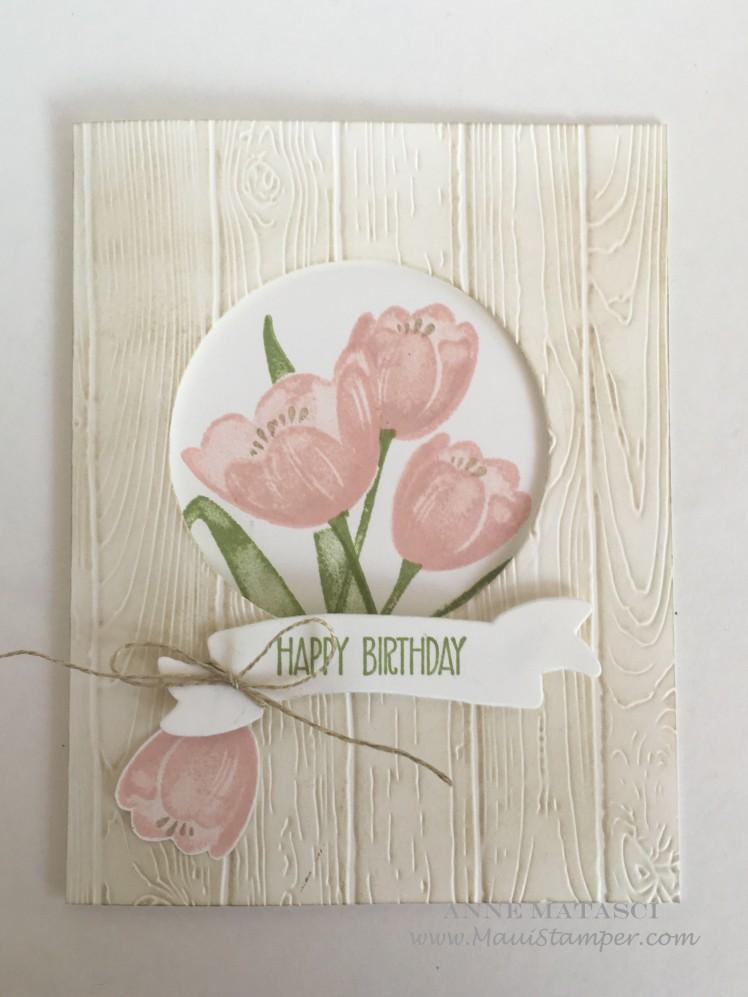 Maui Stamper Stampin' Up! Tranquil Tulips Host stamps