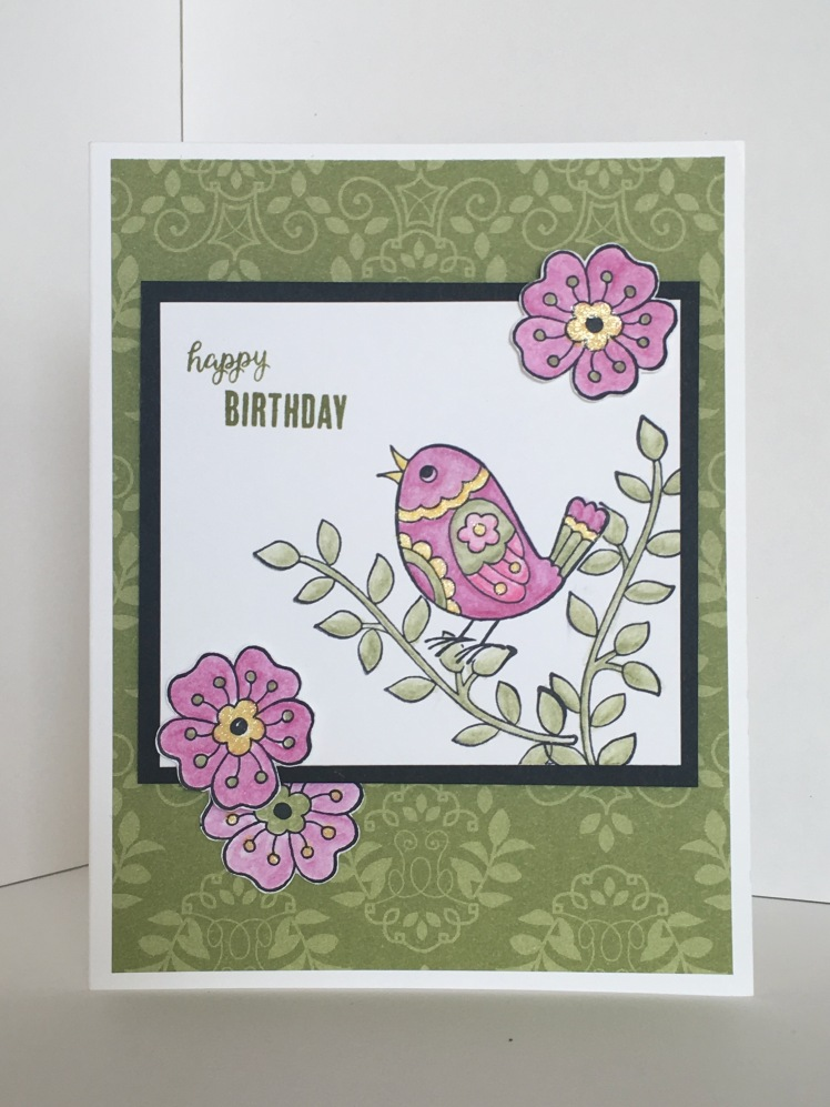 Maui Stamper Stampin' Up! Feathery Friends Host