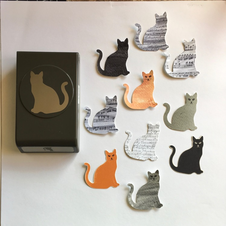 Maui Stamper Holiday 2017 Cat Punch and Spooky Cat