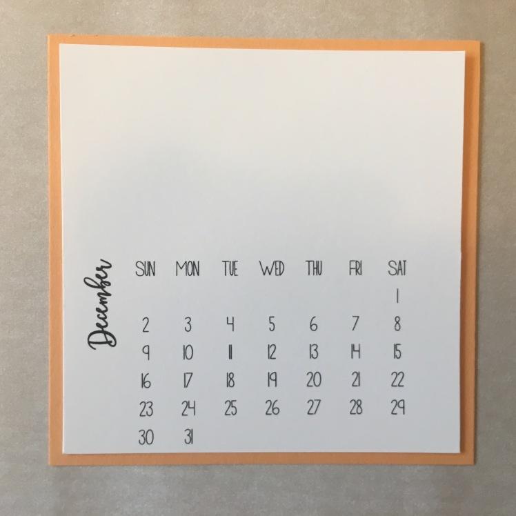 Maui Stamper Stampin' Up! 2018 DIY Easel Calendar Kit