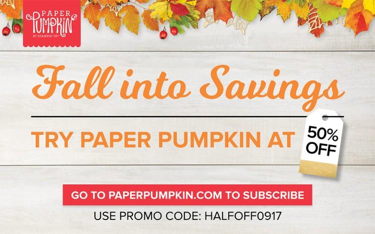 Maui Stamper Paper Pumpkin HalfOff0917