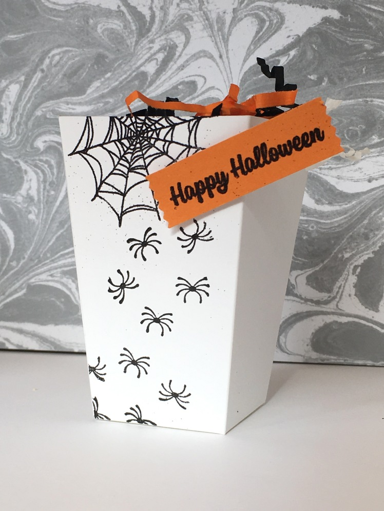 Maui Stamper Stampin' Up! Trick or Treat Popcorn Box