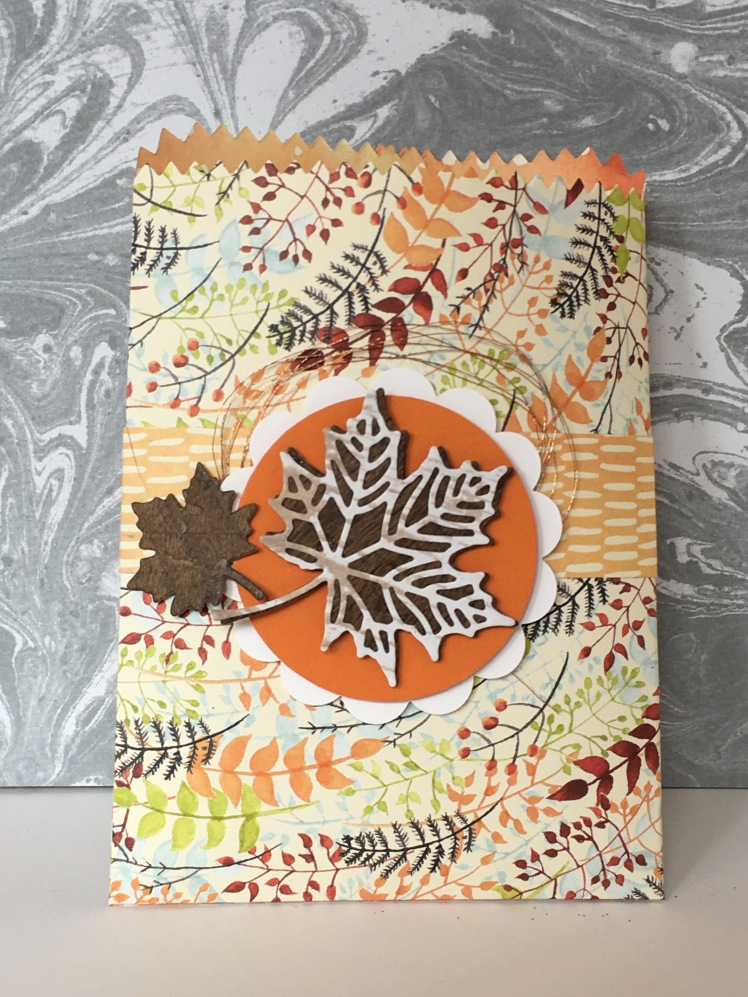 Maui Stamper Spooky Night and Painted Autumn Mini Treat Bags