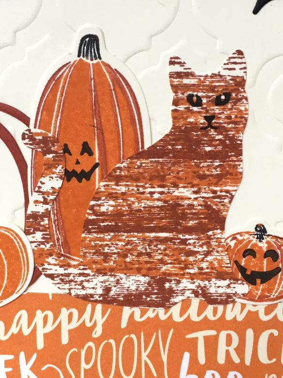 Maui Stamper Stampin' Up! Pick A Pumpkin Spooky Cat