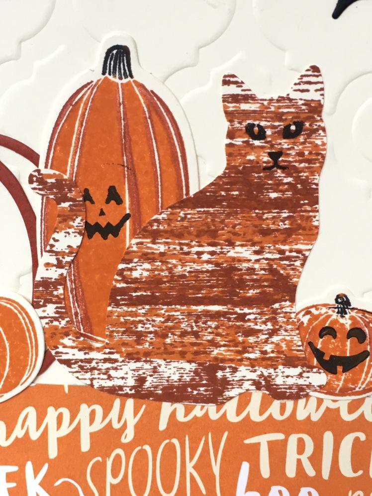 Maui Stamper Stampin' Up! Pick A Pumpkin Spooky Cat