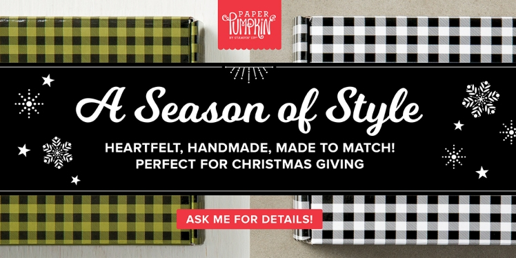 Maui Stamper Stampin' Up! Paper Pumpkin Season of Style Holiday 2017