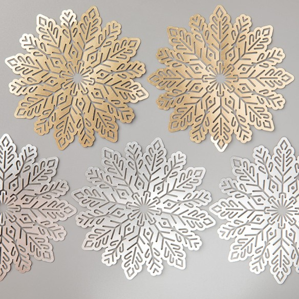 Maui Stamper Stampin' Up! Foil Snowflakes
