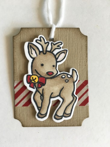 Maui Stamper Stampin' Up! Seasonal Chums Holiday Tags