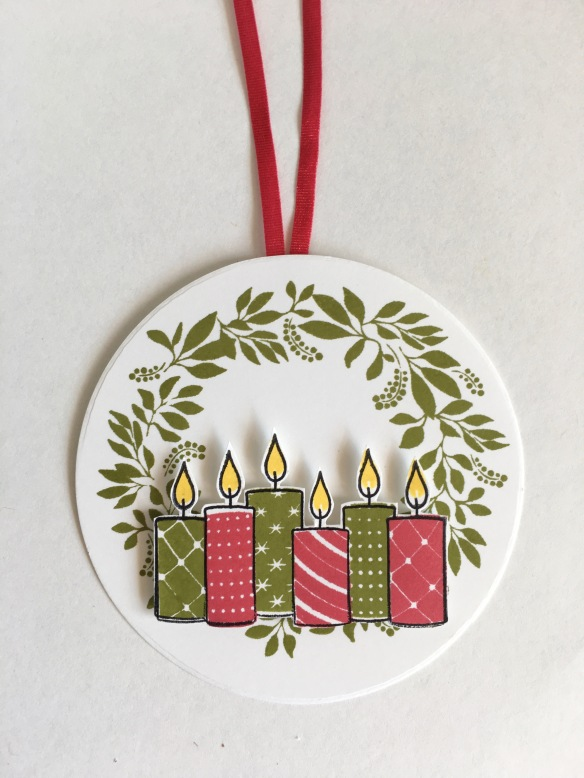 Maui Stamper Stampin' Up! Merry Patterns Hello Friend