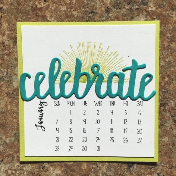 Maui Stamper Stampin' Up! SAB 2018 DIY Easel Calendar