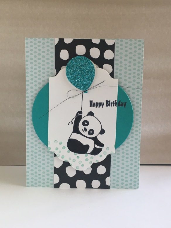 Maui Stamper Stampin' Up! Party Pandas Sale-a-bration 2018