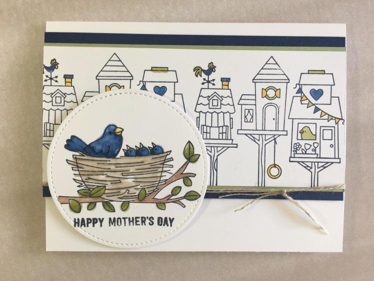 Maui Stamper Stampin' Up! Flying Home Stampin' Blends