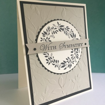 Maui Stamper Stampin' Up! Sympathy Hello Friend