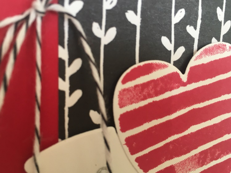 Maui Stamper Stampin' Up! Heart Happiness Valentine