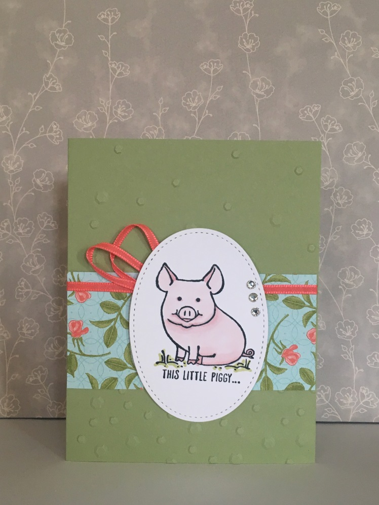 Maui Stamper Stampin' Up! This Little Piggy Valentine