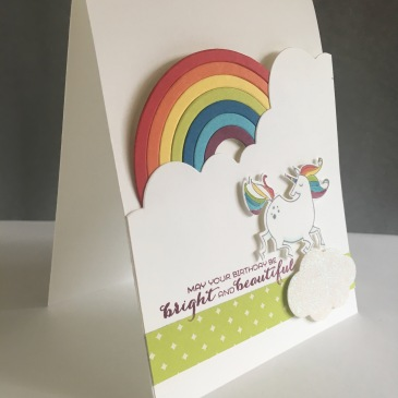 Maui Stamper Stampin' Up! Sunshine & Rainbows with Magical Day