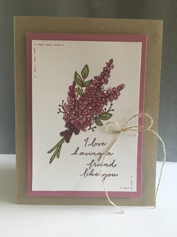 Maui Stamper Stampin' Up! Lots of Lavender SAB 2018